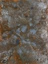 Corrosion picture painted by me named it shows a abstrackt modified corroded and tarnished metallic surface Royalty Free Stock Image