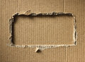 Corrugated cardboard as a background Royalty Free Stock Photography