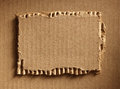 Corrugated cardboard as a background Royalty Free Stock Photo