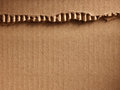 Corrugated cardboard as a background Stock Photos