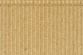 Corrugated cardboard goffer paper texture, bright rough old recycled goffered crimped textured blank empty grunge copy space Royalty Free Stock Photo