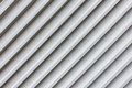 Corrugated facade industrial outdoor close up Royalty Free Stock Images