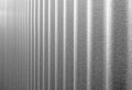 Corrugated Infinity BW Royalty Free Stock Photography