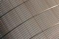 Corrugated metal Stock Image