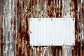 Corrugated metal Royalty Free Stock Photos