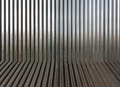 Corrugated metal texture surface or galvanize steel Royalty Free Stock Photo