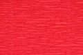 Corrugated paper dyed red closeup Royalty Free Stock Photo