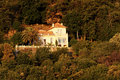 House in corsica mountains Royalty Free Stock Photo