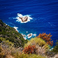 Corsica west coast near Porto Royalty Free Stock Photos