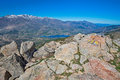 Corsican high mountains Royalty Free Stock Photo