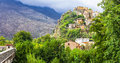 Corte old town in Corsica Royalty Free Stock Photo