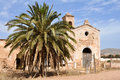 Cortijo del Fraile, historic building in Gata cape NP, Spain Royalty Free Stock Image