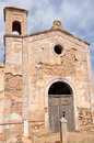 Cortijo del Fraile, historic building in Gata cape NP, Spain Royalty Free Stock Images