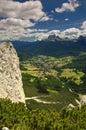 Cortina d Ampezzo Royalty Free Stock Images