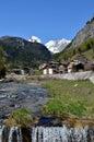 Cortina d ampezzo italy Stock Images