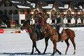Cortina winter polo cup 2008 Royalty Free Stock Photo