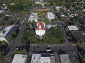 Corvallis Courthouse Royalty Free Stock Photo