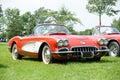 Corvette Royalty Free Stock Photo