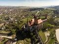 Corvin Castle from Hunedoara Royalty Free Stock Photo