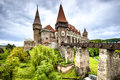 Corvin Castle, Hunedoara, Romania Royalty Free Stock Photo