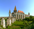 Corvin Castle in Hunedoara, Romania Royalty Free Stock Photo