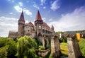 Corvins Castel Transilvania | Huniazilor Castle Royalty Free Stock Photo