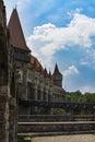 Corvins Castle, XV century , Romania Royalty Free Stock Photo