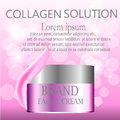 Cosmetic ads, hydrating luxury facial cream