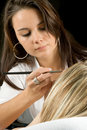 Cosmetician Stock Photography
