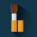 Cosmetics design over blue background vector illustration Stock Photography