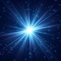 Cosmic radiance fine light Royalty Free Stock Photo
