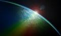 Kozmický východ slnka