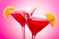 Cosmopolitan Cocktail Royalty Free Stock Photo