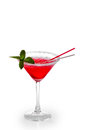 Cosmopolitan coctail Royalty Free Stock Photo