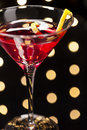Cosmopolitan on the dance floor Royalty Free Stock Photo