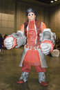 Cosplay pour la convention Asie de jeux Photos stock