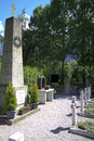 Cossack graveyard peggetz lienz austria in austrian east tyrol on june started the repatriation of the cossacks to russia first of Royalty Free Stock Photography