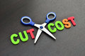 Cost cutting concept Royalty Free Stock Photo