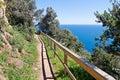 Costa Brava Pathway Royalty Free Stock Photo