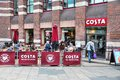 Costa coffee liverpool uk april people sit at on april in liverpool uk has stores in countries cafes in the uk Royalty Free Stock Photography