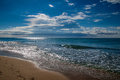 Costa Dorada beach Royalty Free Stock Photo