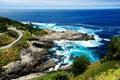 Costa grande de Sur Fotos de archivo libres de regalías