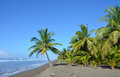 Costa Rica beach Royalty Free Stock Photo