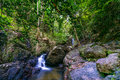 Costa Rica Nature Background Travel Destinations Rio CelesteCosta Rica Nature Background Travel Destinations Rio Celeste Royalty Free Stock Photo