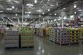 Costco store interiors of near seattle Royalty Free Stock Photo