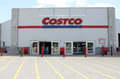 Costco wholesale storefront in etobicoke ontario canada operates an international chain of membership warehouses Royalty Free Stock Images