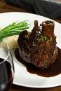 Costeleta de carne de porco com ossos Fotos de Stock