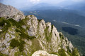 Costila mountain and the low altitude forest Royalty Free Stock Photo