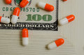 Costly medicines speculation and pharmaceutical fraud concerns Stock Photography