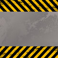 Costruction warning stripes Royalty Free Stock Images